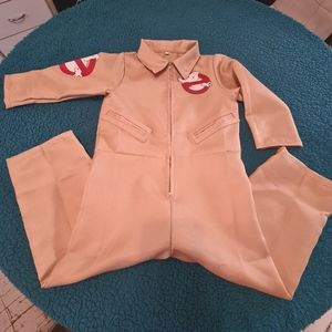 2-5 Year S Old Kids Ghostbuster Jumpsuit Costume | Kids Ghostbuster Cosplay Suit